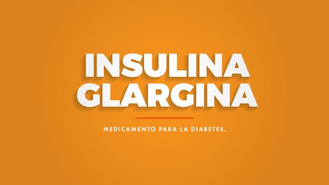 insulina glargina